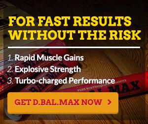 D-Bal MAX Legal Steroid